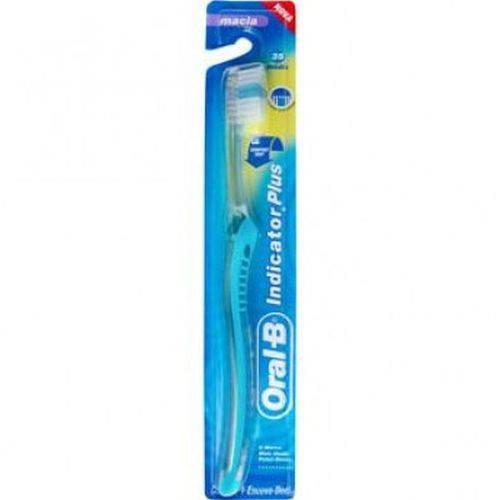Escova Dental Oral B Indicator Plus 35 Md Macia