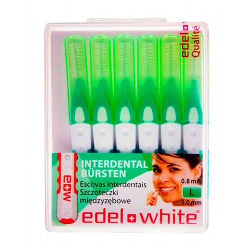 Escova Interdental Edel White L 5,0mm com 6 Unidades