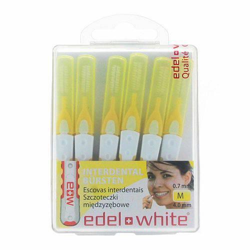 Escova Interdental Edel White M 4,0mm com 6 Unidades