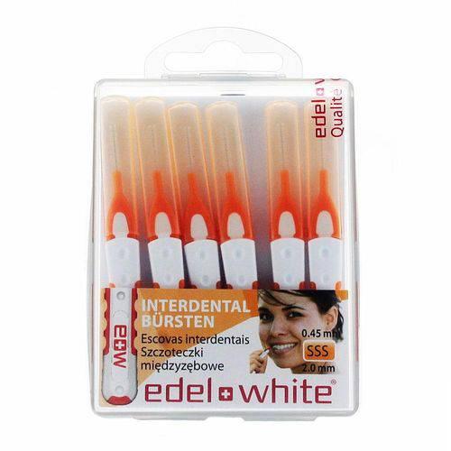 Escova Interdental Edel White SSS 2,0mm com 6 Unidades