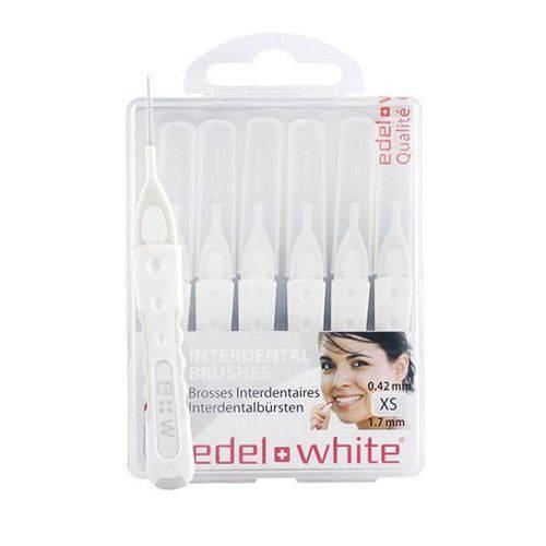 Escova Interdental Edel White XS 1,7mm com 6 Unidades
