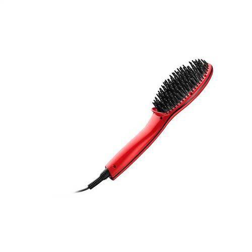Escova Multilaser Eb10 Alisadora Beauty Bivolt Vermelha