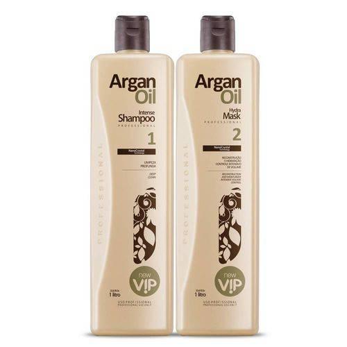 Escova Progressiva Vip Argan Oil 2x1000ml
