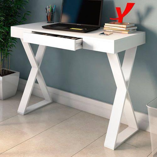 Escrivaninha Veneza Branco - Artany Móveis