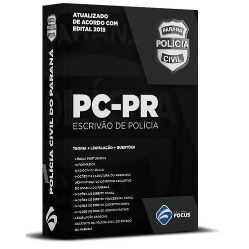 Escrivão de Polícia - PC PR