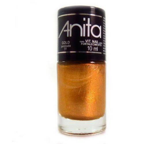 Esmalte Anita Gold Perolado 10ml 77