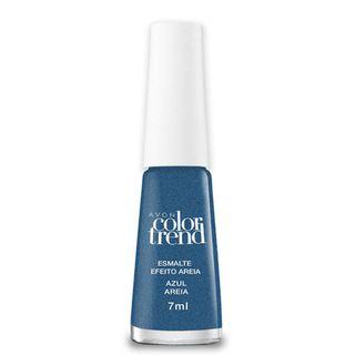 Esmalte Color Trend Efeito Areia 7ml - Azul