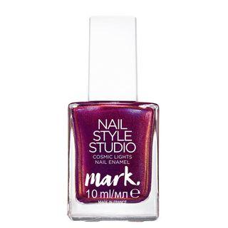 Esmalte Mark. Nail Style Cosmic Lights 10ml - Rosa Cintilante