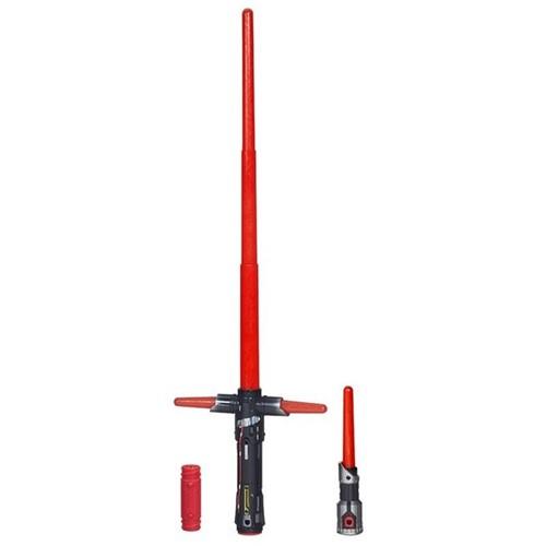 Espada Star Wars - Sabre de Luz Eletrônico - Kylo Ren Vilão Ep.Vii - HASBRO