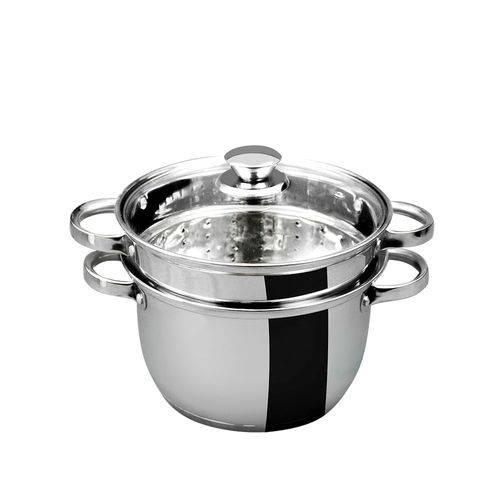 Espagueteira Aço Inox 6l 3 Peças Gourmet Mix