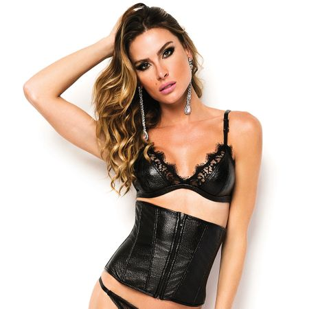 Espartilho Underbust Black Seduction de Chelles
