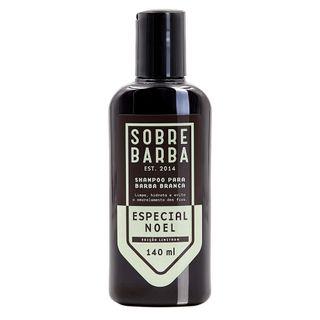 Especial Noel Sobrebarba - Shampoo para Barba Branca 140ml