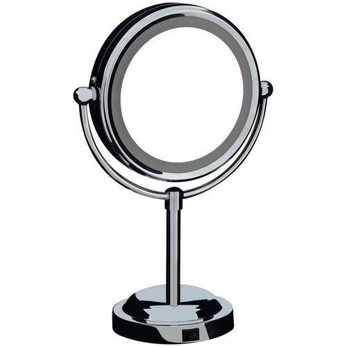 Espelho Articulado de Aumento com Luz - Mor