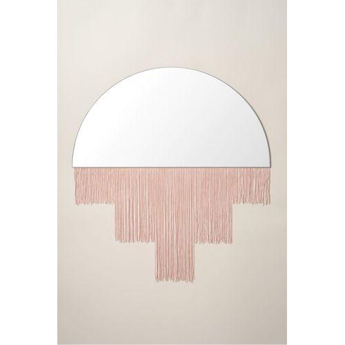 Espelho com Franja Rose