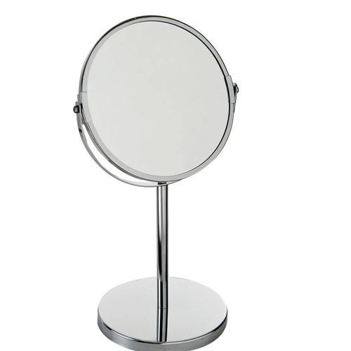 Espelho de Aumento Dupla Face - Cromado - Mor