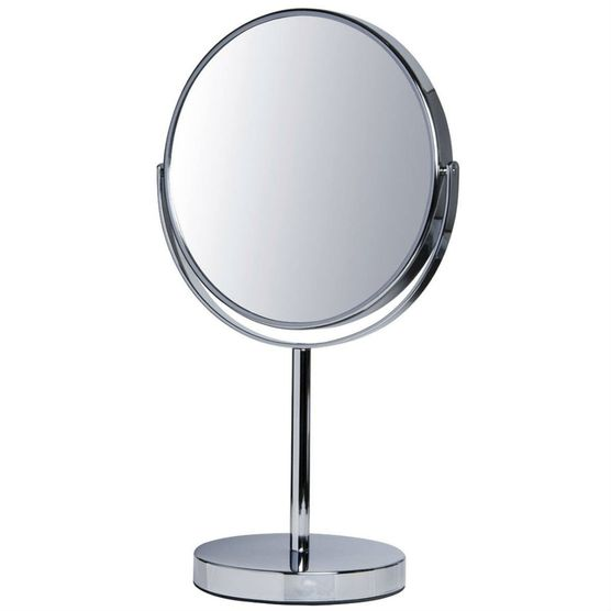Espelho de Mesa com Aumento 5x Dupla Face Jm-831