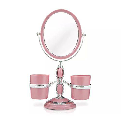 Espelho de Mesa Jacki Design - Rosa
