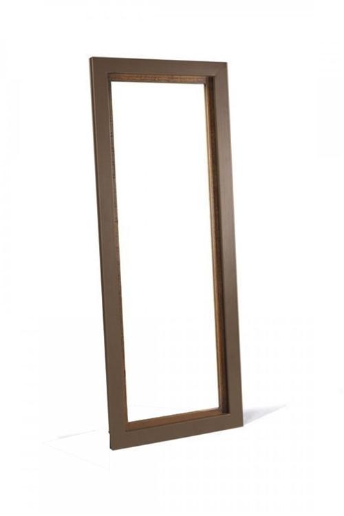 Espelho Marrom 70x177 Cm - Occa Moderna