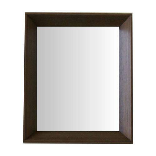 Espelho Moldura Madeira Lisa Fundo 16320 Madeira Art Shop