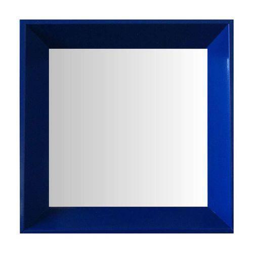 Espelho Moldura Madeira Lisa Fundo 16205 Azul Art Shop