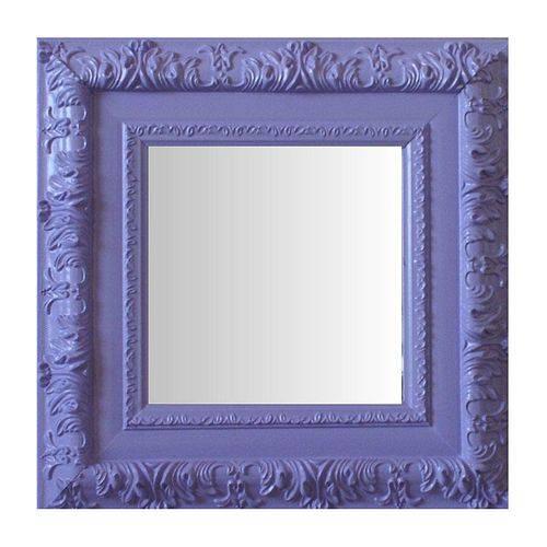 Espelho Moldura Rococó Externo 16256 Lilás Art Shop