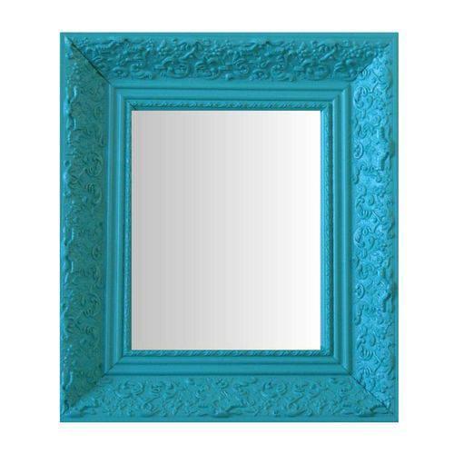Espelho Moldura Rococó Fundo 16446 Anis Art Shop