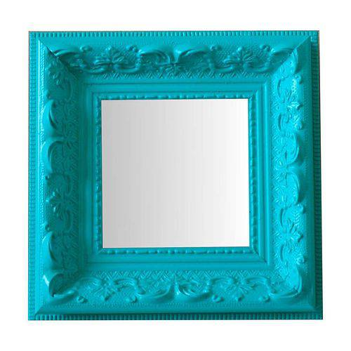 Espelho Moldura Rococó Raso 16243 Anis Art Shop