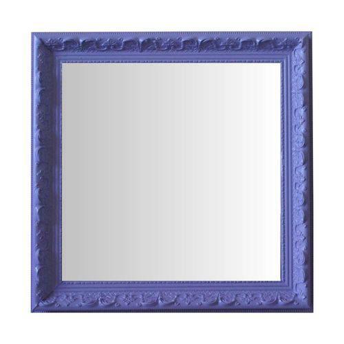 Espelho Moldura Rococó Raso 16242 Lilás Art Shop