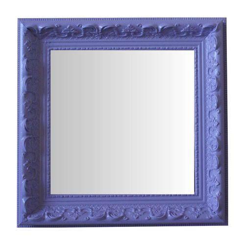 Espelho Moldura Rococó Raso 16240 Lilás Art Shop