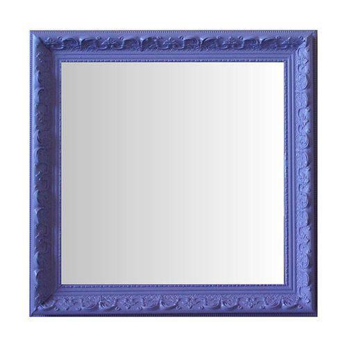 Espelho Moldura Rococó Raso 16408 Lilás Art Shop