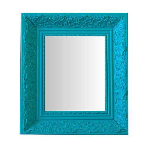 Espelho Moldura Rococó Raso 16246 Anis Art Shop