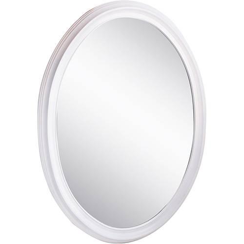 Espelho Oval Branco - Uatt?