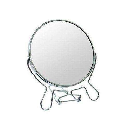 Espelho Redondo Dupla Face 12 Cm de Mesa