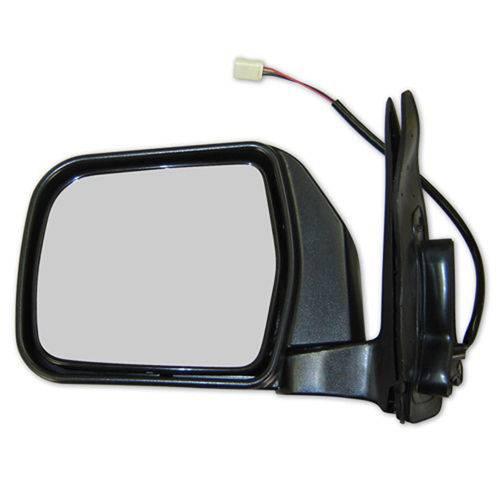 Espelho Retrovisor Cromado Longa Toyota Hilux 1993 a 2001 - Lado Esquerdo