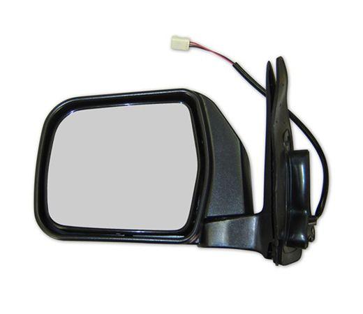 Espelho Retrovisor Cromado Longa Toyota Hilux 1993 a 2001 Lado Esquerdo