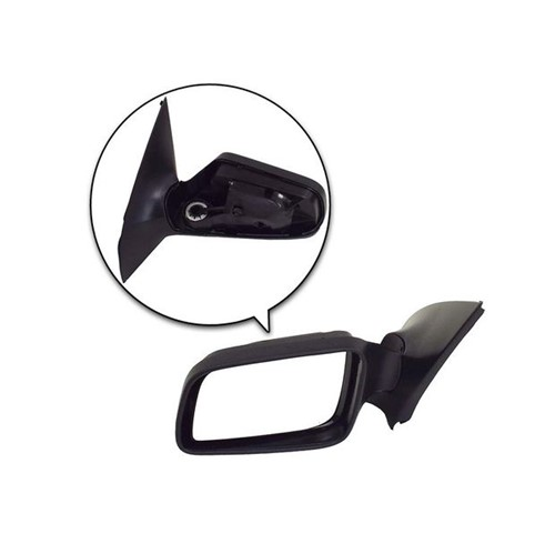 Espelho Retrovisor Externo Lado Esquerdo com Controle Elétrico/ Lente Cromada /sem Cobertura 93370882 Astra