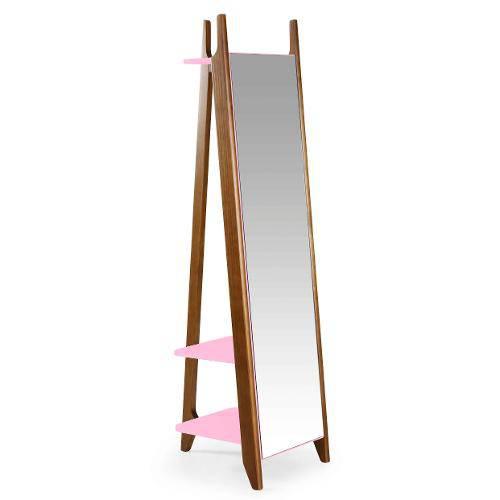 Espelho Stoka Rosa Cristal