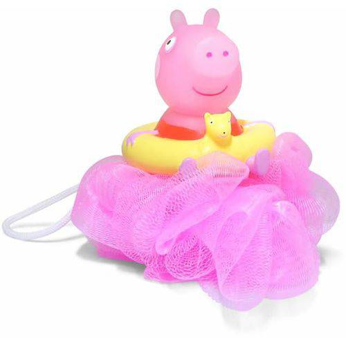 Esponja de Banho - Peppa Pig - Rosa