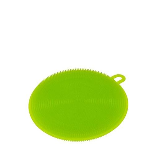 Esponja Multiuso Weck Redonda Silicone Verde 11CM - 31760