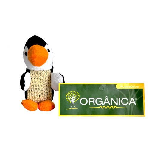 Esponja para Banho Bath Toys Pinguim - Orgânica