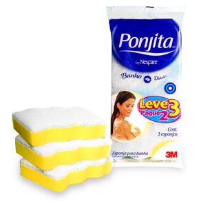 Esponja para Banho Ponjita Leve 3 Pague 2