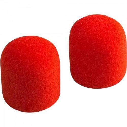Espuma Protetora para Microfone Sm58 Vermelha Mxt