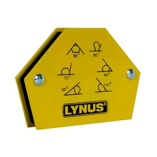 Esquadro Magnético Angular EML-12A - 00010818.6 - Lynus 12 Kilos