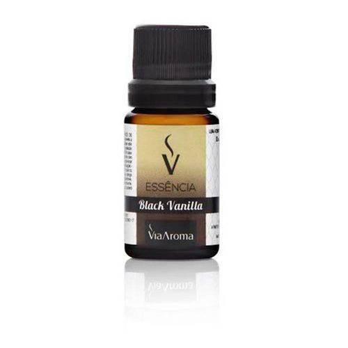 Essência de Black Vanilla - 10ml - Via Aroma