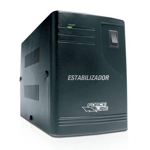 Estabilizador para Eletrodomestico 2000va Force Line - Bivolt - 581