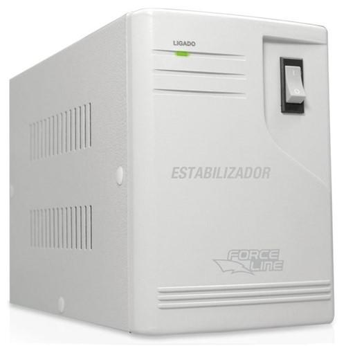 Estabilizador para Eletrodomésticos, 500 VA, Entrada Bivolt, Saída 115 V 576 - Force Line