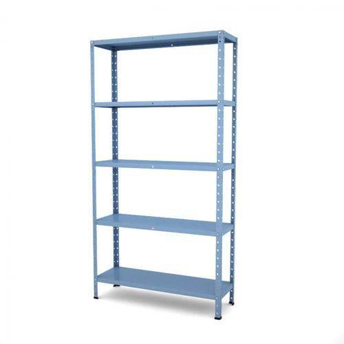 Estante Multiuso Desmontável de Aço T192 Clássico Pandin Móveis Azul