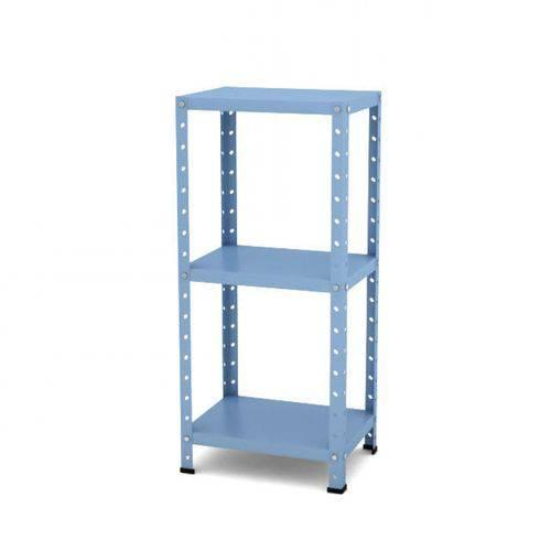 Estante Multiuso Desmontável de Aço T190 Clássico Pandin Móveis Azul