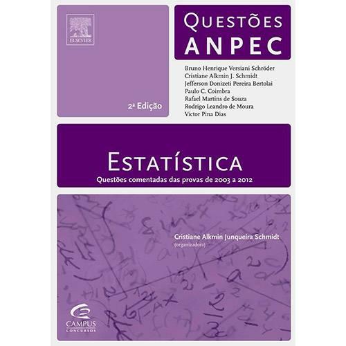 Estatística: Questões Anpec