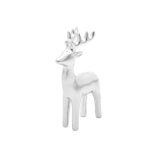 Estátua Cervo Prata